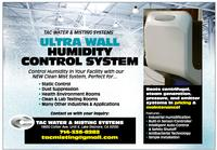 ULTRA WALL HUMIDITY CONTROL SYSTEM